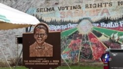 """亚裔美国人重返塞尔玛 纪念""""血腥星期天"""""""