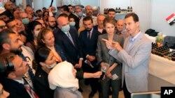 Dîmeneke ji Hilbijartinên Seroktîyê yên berê li Sûrîyê (Arşîv)