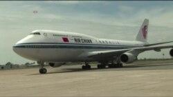 President Xi Jingping Arrival in Zimbabwe