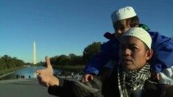 Vaşinqtonda müsəlmanlar İŞİD-i pisləyirlər