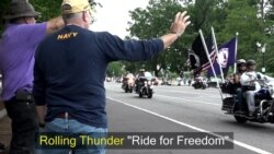 'Rolling Thunder' - an Annual Memorial Day Tribute