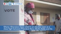 VOA60 Afrikaa - Voters in Ghana are going to the polls today