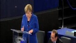 德法領導人呼籲歐盟團結一致安置移民