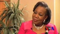 Interview de Catherine Samba Panza sur VOA Afrique