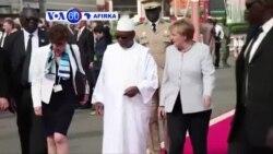 VOA60 AFIRKA: MALI Shugabar Jamus Angela Merkel Ta Isa Mali A Rangadin Nahiyar Afirka Na Kwana Uku.