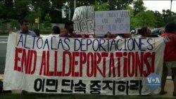 Нелегальні іммігранти у США виходять на протести і заявляють про свої права. Відео