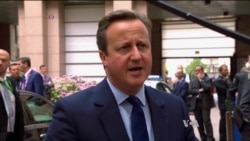 Britain's Cameron Hopes for 'Constructive' EU Talks