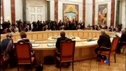 2014-08-27 美國之音視頻新聞: 烏克蘭俄羅斯就和平計劃原則達成共識