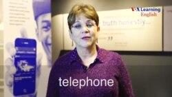 telephone (noun)