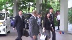 2018-06-11 美國之音視頻新聞: 美朝官員在川金會前舉行預備會議