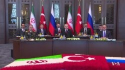 Turkey, Russia, Iran Find Some Common Ground at Summit