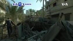 VOA60 DUNIYA: Isra'ila Ta Kashe Mutum Shida A Gaza A Hare-haren da Ta Kai Don Dakile Harin Rokokin Hamas