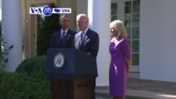 VOA60 America - U.S. Vice President Joe Biden says he is not running for President