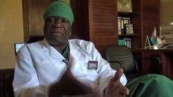 Le docteur Denis Mukwege, gynécologue congolais
