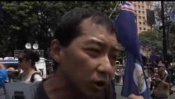 2012-07-01 美國之音視頻新聞: 新任香港特首梁振英在7月1日就職