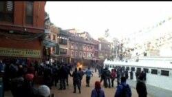 2013-02-14 美國之音視頻新聞: 自焚藏人在尼泊爾傷重喪生
