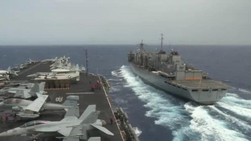 ԱՄՆ-ի ու Չինաստանի ռազմածովային ուժերի առանձին վարժանքները` Հարավչինական ծովում