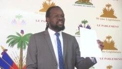 Ayiti: Senatè Antonio Cheramy Pale sou Konvovasyon Minis Afè Sosyal la