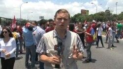 Venezuela: jóvenes opositores exigen destitución de magistrados