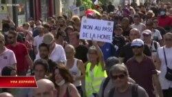 Pháp: Biểu tình phản đối 'hộ chiếu vaccine'
