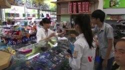 领海争端引发越南民众抵制中国货
