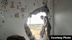 Фото: житловий будинок уражено в Тріполі, Лівія, 6 червня 2020 року