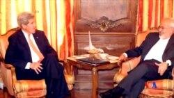 2015-04-28 美國之音視頻新聞:克里在紐約與伊朗外長會談