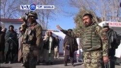 VOA60 Duniya: Sojan Afghanistan Sun Harba Kwanson Bom Daya Kashe Mutune 20, Afghanistan, Janairu 01, 2015