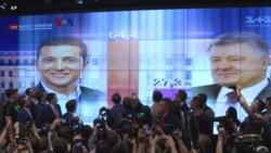 Presiden Serial Parodi Menjadi Pemenang Telak Pilpres Ukraina