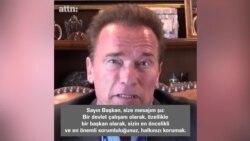 Arnold'dan Trump'a: 'Zamanı bir tek ben geriye döndürebilirim'