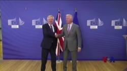 欧盟与英国开始脱欧谈判