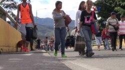 Colombianos le tienden la mano a miles de venezolanos
