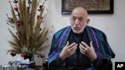 د افغانستان مخکينی صدر حامد کرزی