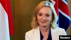Menteri Perdagangan Inggris Liz Truss