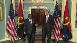 Encontro entre Secretário de Estado John Kerry e Ministro angolano Georges Chikoti