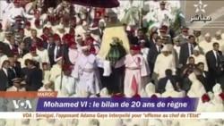 Le bilan des 20 ans de règne de Mohamed VI