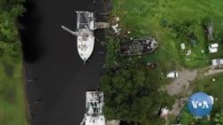 英语视频:路易斯安那州居民担心飓风再次来袭