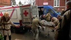 Гражданская больница переполнена ранеными украинскими солдатами