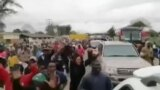 Jovial Crowad Welcoming Nelson Chamisa ...