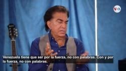 """José Luis Rodríguez """"El Puma"""" cree que la solución en Venezuela pasa por emplear la fuerza"""