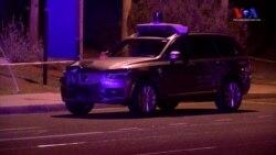 Sürücüsüz Uber Yayaya Çarparak Öldürdü