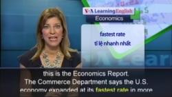 Anh ngữ đặc biệt: US GDP (VOA)