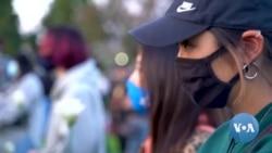 เสียงชาวเอเชียในอเมริการวมเป็นหนึ่งลุกเคลื่อนไหวต้านความรุนแรง