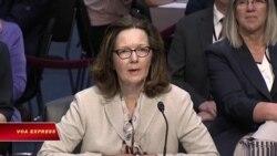Ủy ban Thượng viện duyệt bà Haspel lãnh đạo CIA
