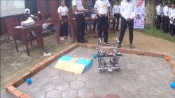 Cambodian Teens Are Preparing for 2017 First Global Robotics Challenge