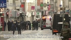 2 Killed in Raid Targeting Mastermind of Paris Attacks