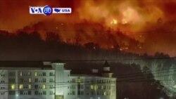 Manchetes Americanas 30 Novembro: Fogo continua a arrasar o Tennessee