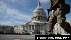 Capitol armed guard military security