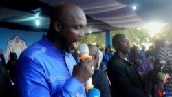 George Weah confiant de ses chances à la présidentielle de 2017 au Liberia (vidéo )