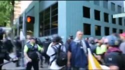 У Портленді демонстрації прихильників правих і лівих сил вилились у сутички із поліцією. Відео